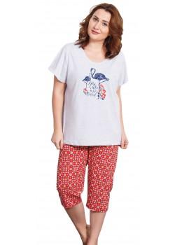 Pijama capri xxl dama You are so Loved