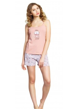 Pijama short dama Believe in Yourself