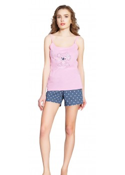 Pijama short dama Bubbles