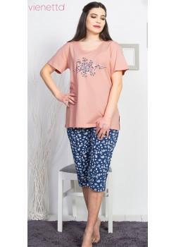 Pijama capri dama marimi mari Love Dance
