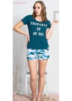 Pijama short dama Property of No One
