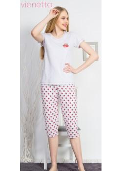 Pijama capri dama Spring Love