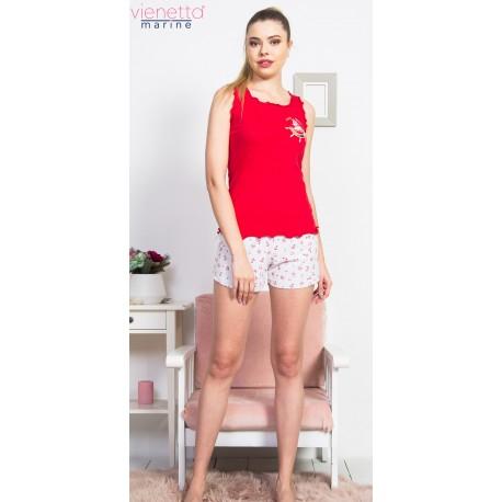 Pijama short dama Marine Style