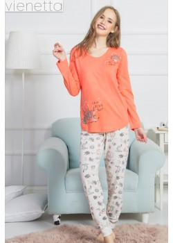 Pijama dama Camping Day
