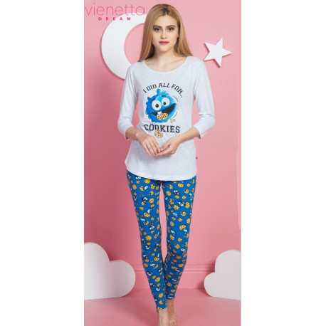 Pijama dama I did all for Cookies