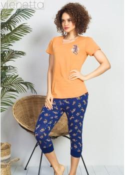 Pijama capri dama Wild and Free