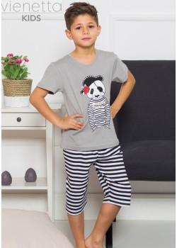 Pijama bermuda baieti marimi mari Cool Pirate