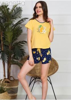 Pijama short dama Lemon Girl