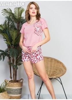 Pijama short dama Wild and Free