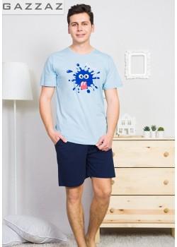 Pijama short barbati Splash
