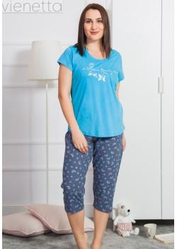 Pijama capri dama marimi mari Amour