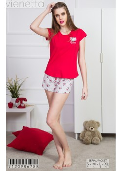 Pijama short dama Hello !
