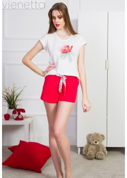 Pijama short dama Romance