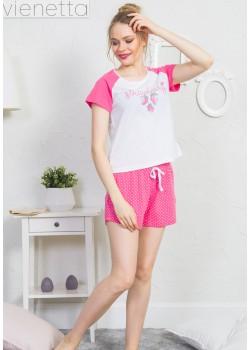 Pijama short dama Think Pink