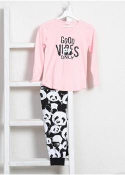 Pijama fetite marimi mari Good Vibes