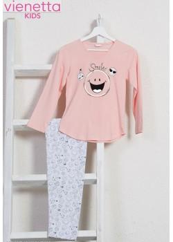 Pijama fetite marimi mari Smile More