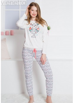 Pijama dama Sleepy Owl