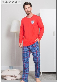 Pijama barbati Flight Crew