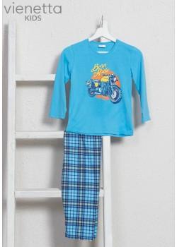 Pijama baieti marimi mari Born to Ride