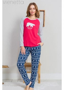 Pijama dama Bear Hug