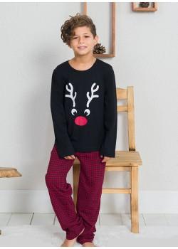 Pijama baieti marimi mari Merry Christmas