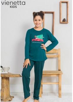 Pijama copii fetite Home for the Holidays