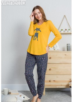 Pijama dama Lovely Cat