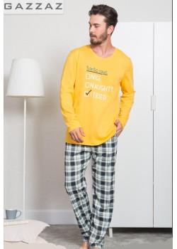Pijama barbati Santa Says