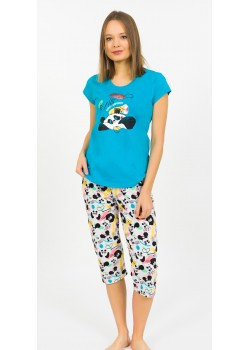 Pijama capri dama Panda 's Dream