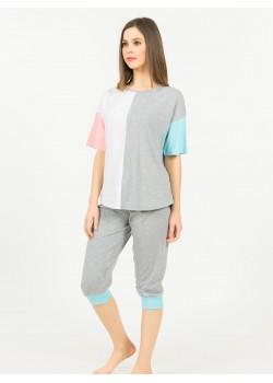 Pijama capri dama Topic