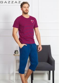 Pijama capri barbati marimi mari Profile