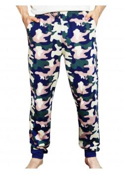 Pantalon pijama barbati Camouflage