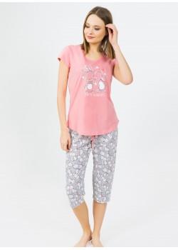 Pijama capri dama Happy Moments