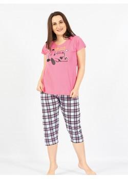 Pijama capri dama marimi mari Let me Sleep