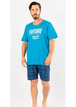 Pijama short barbati marimi mari Future