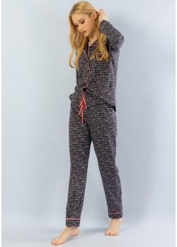 Pijama cu nasturi dama Autograph