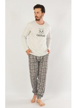 Pijama barbati Cattitude