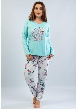 Pijama marimi mari La Vie en Rose