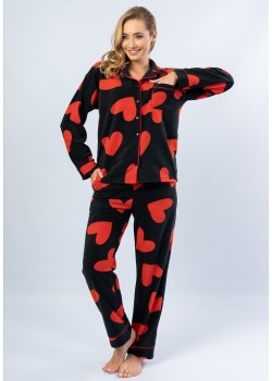 Pijama fleece dama